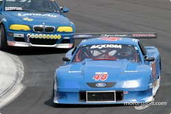 Tommy Riggins led the GTS class in Rolex Series qualifying for the third-straight race in the Heritage Motorsports #48 Mustang