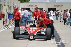 Alex Barron's car