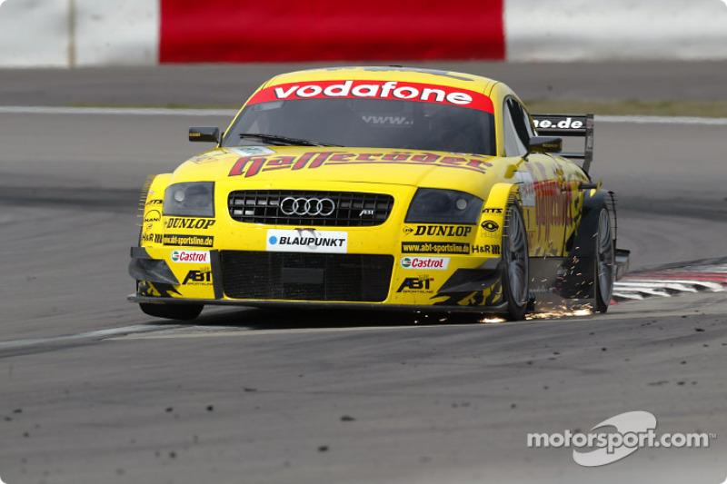 DTM, Nürburgring 2003: Laurent Aiello, Abt, Audi TT-R