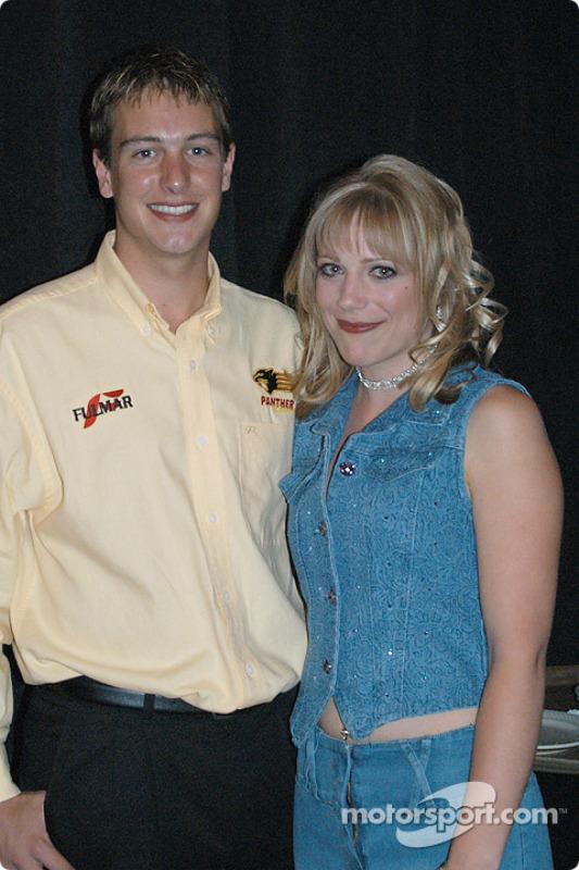 Mark Taylor and girlfriend Vanessa