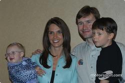 Jacqueline, Kara, Buddy and Flinn Lazier