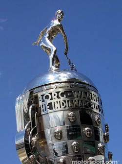 The legendary Borg Warner Trophy