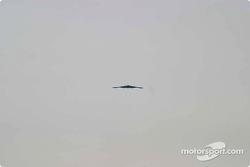 Stealth flyover