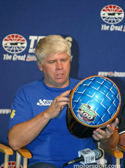 Press conference: pole winner Bobby Hamilton