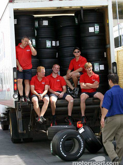 Bridgestone team members
