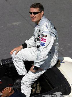 Parade des pilotes : David Coulthard