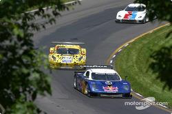 #58 Brumos Racing Porsche Fabcar: David Donohue, Mike Borkowski, Scott Goodyear, and #8 G&W Motorsports BMW Picchio DP2: Darren Law, Andy Lally, Geoffrey Bodine