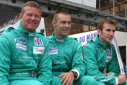 #14 Team Nasamax Reynard 01Q Cosworth: Robbie Stirling, Romain Dumas, Werner Lupberger