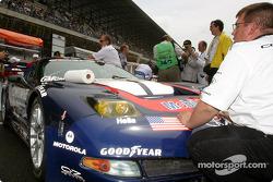 #50 Corvette Racing Gary Pratt Corvette-Chevrolet C5