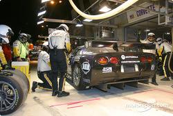 Pitstop for #50 Corvette Racing Gary Pratt Corvette-Chevrolet C5: Oliver Gavin, Kelly Collins, Andy Pilgrim