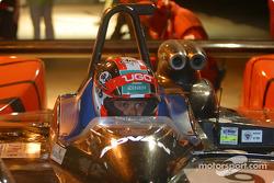 Pitstop for #9 Kondo Racing Dome S101 Mugen: Ukyo Katayama