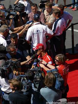 Interview for Ralf Schumacher and Michael Schumacher