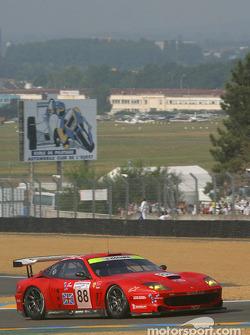 #88 Veloqx Prodrive Racing Ferrari 550 Maranello: Tomas Enge, Peter Kox, Jamie Davies
