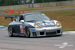 #43 Orbit Racing Porsche 911 GT3 RS: Leo Hindery, Peter Baron