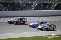Bill Elliott, Michael Waltrip and Jamie McMurray