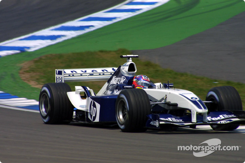 2003 (Hockenheim): Juan Pablo Montoya (Williams-BMW FW25)