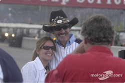 Richard Petty poses