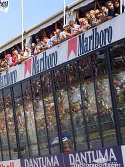 Spectactors at Zandvoort