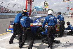 #33 Paul Menard in the pits