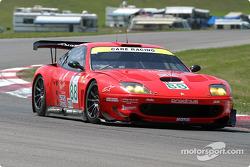 #88 Prodrive Racing Ferrari 550 Maranello: Tomas Enge, Peter Kox