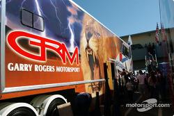 Holden fans get a tour of the Garry Rogers Motorsport transporter
