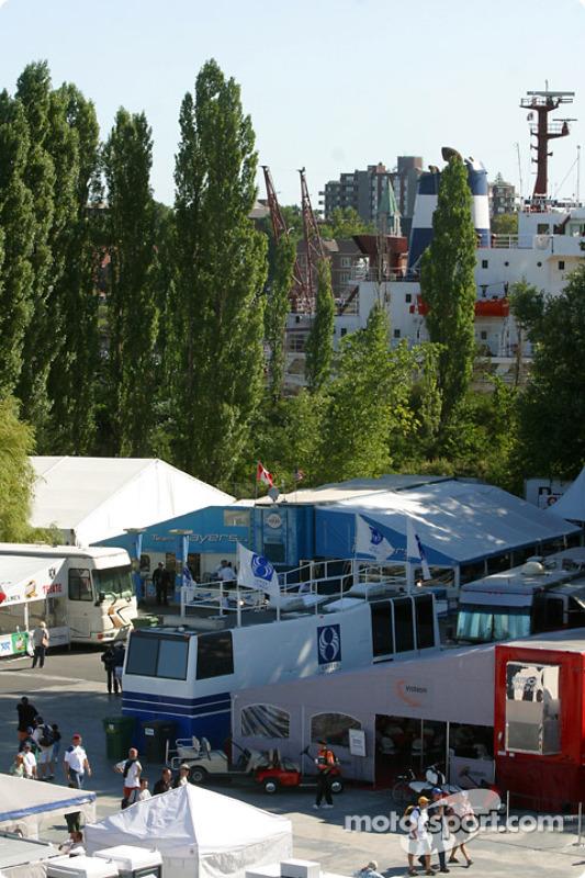 Les hospitalités au Circuit Gilles Villeneuve