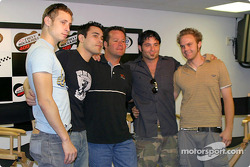 Robby Gordon with Trapt