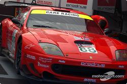 #88 Prodrive Ferrari 550 Maranello