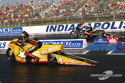 Antron Brown and Andrew Hines