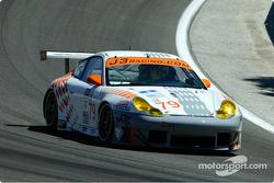 la Porsche 911 GT3RS n°79 de l'équipe J-3 Racing pilotée par Justin Jackson, David Murry