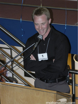 David Donohue talks at the IMRRC auction