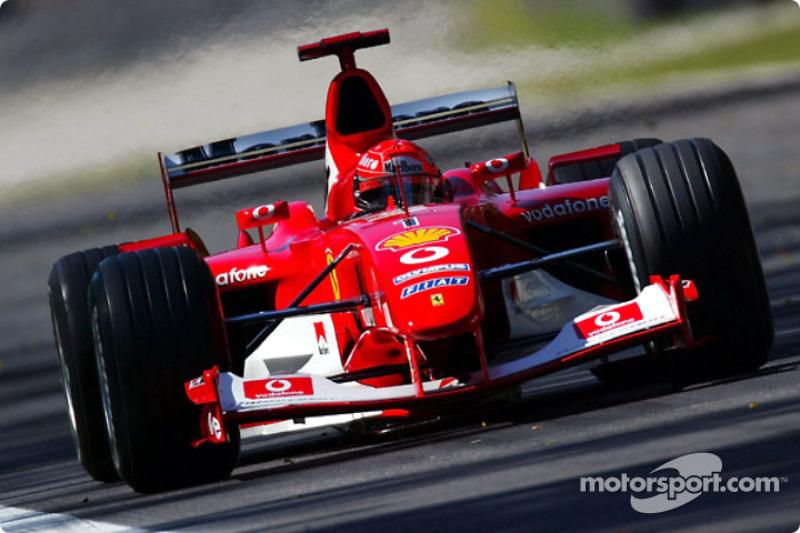 #6: Ferrari F2002 (2002-2003)