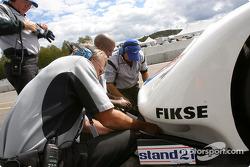 Brumos Racing team members