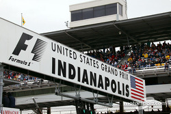Indianapolis Motor Speedway banner