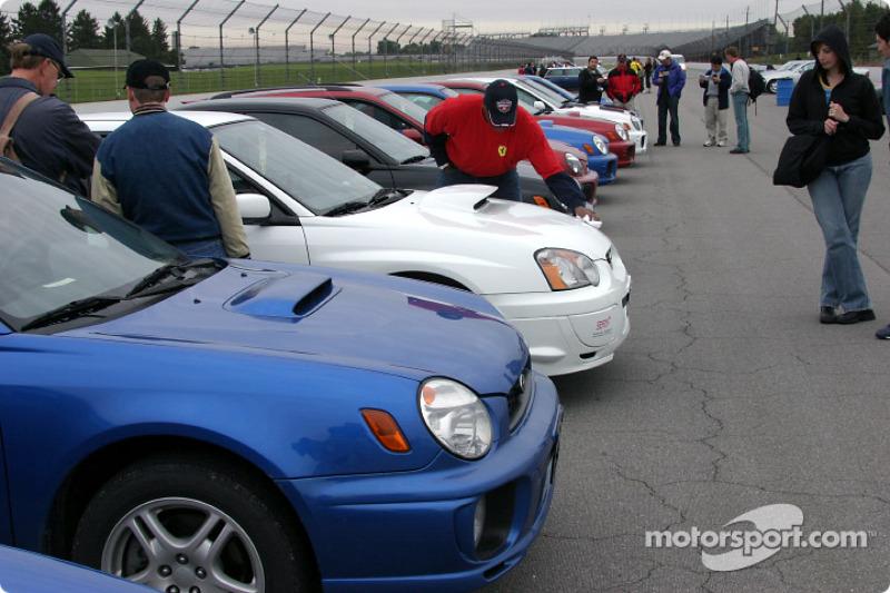 Subaru parking