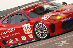 #35 Risi Competizione Ferrari 360 Modena: Ralf Kelleners, Anthony Lazzaro