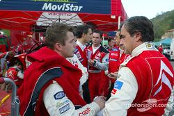 Sébastien Loeb y Carlos Sainz