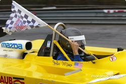 Race winner John Mirro