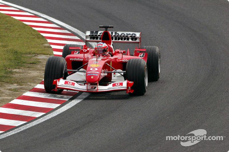 2003 - Suzuka: Rubens Barrichello, Ferrari F2003-GA