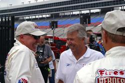 Tom Sneva and Rick Mears