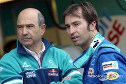 Peter Sauber et Heinz-Harald Frentzen