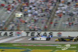 Thiago Medeiros takes the checkered flag