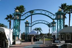 Archway over Daytona Beach