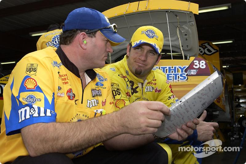 Elliott Sadler and Todd Parrott