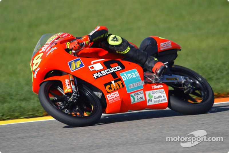 2003 Primera temporada completa en 125cc