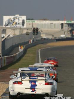 #34 Noel Del Bello Porsche GT3-RS: Jean-Luc Maury-Laribière, Philip Collin