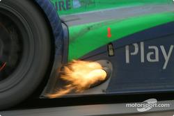 #2 Pescarolo Sport Courage Peugeot C60: Franck Lagorce, Stephane Sarrazin, Sébastien Bourdais