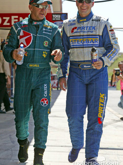 Russell Ingall and Marcos Ambrose