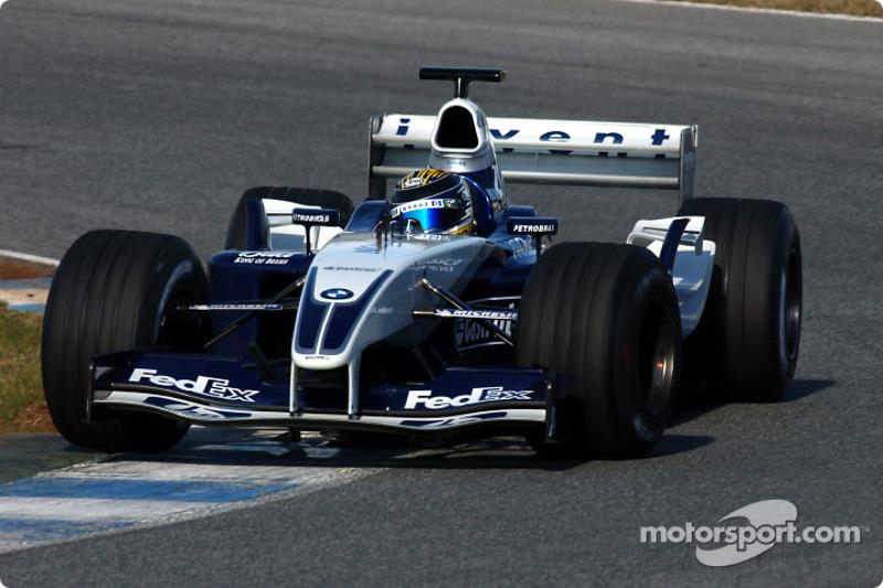 Dezember 2003: Erneuter Formel-1-Test für Williams