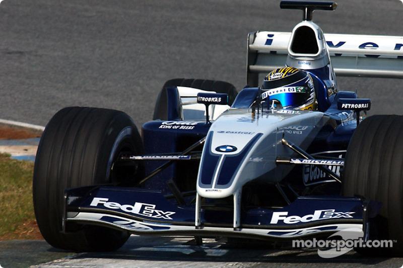 2003: Más test con Williams